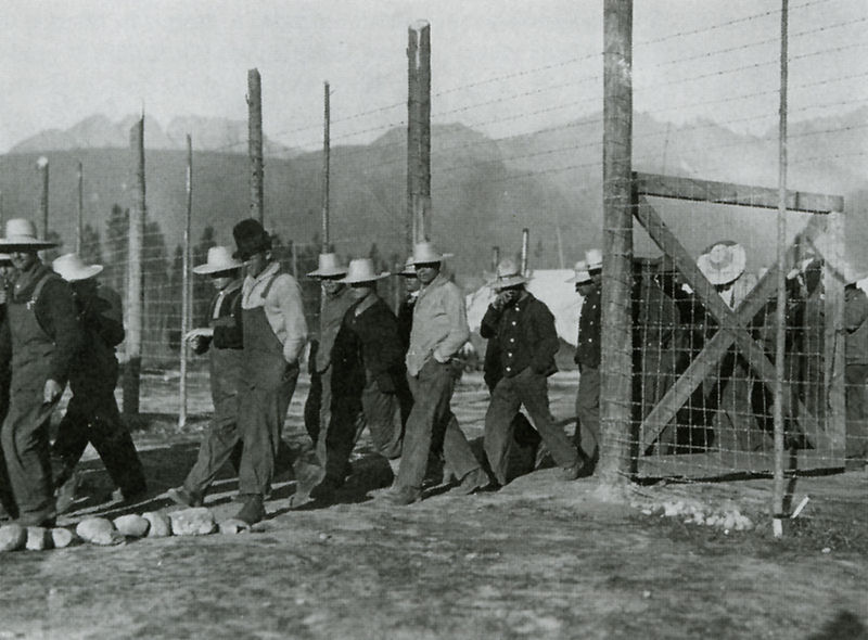 Castle Mountain Internment Camp