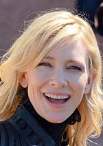 Photo of Cate Blanchett at the 2015 Cannes Film Festival.