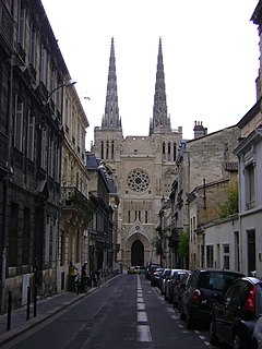 Bordeaux Cathedral cathedral located in Bordeaux
