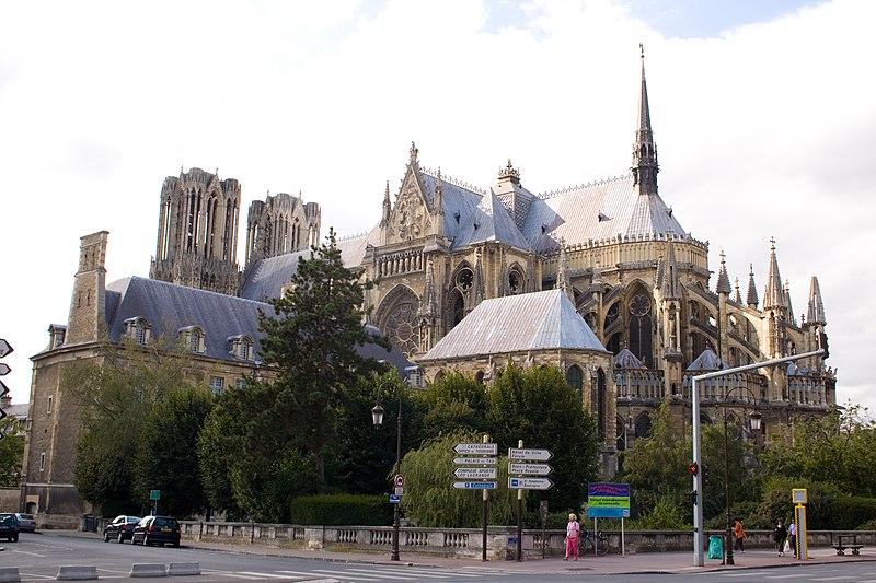 katedra w Reims, widok bryły
