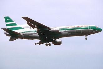 Cathay Pacific fleet - A former Cathay Pacific Lockheed L-1011-100 TriStar