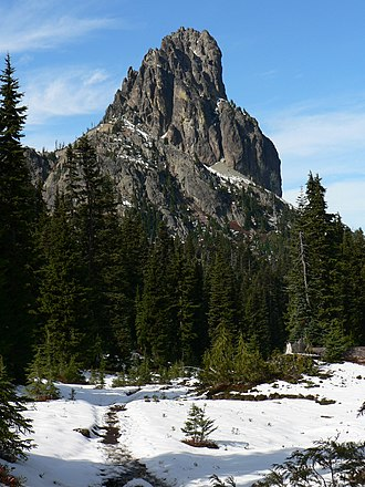 Mount Daniel - Cathedral Rock, to the southeast of Mount Daniel.