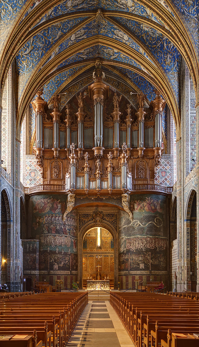 Bon samedi 640px-Cathedral_of_Albi_-_Nave_and_Organ_-_7029