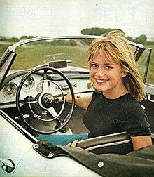 Catherine Spaak nel 1962