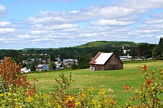 Cayamant, Quebec - View of Cayamant