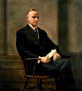 Presidency of Calvin Coolidge - Coolidge (1932)