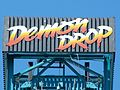 Cedar Point Demon Drop sign (3244649065).jpg