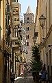 Cefalù, il Duomo da via Mandralisca. - panoramio.jpg