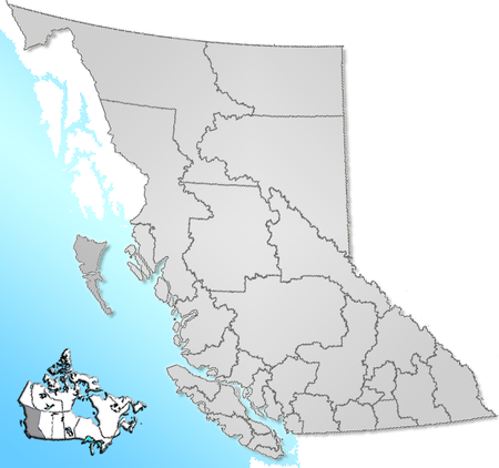 British Columbia Regional Districts
