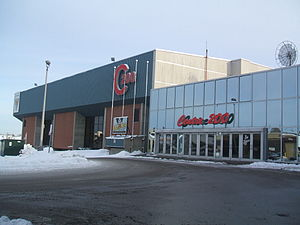 Cape Breton Screaming Eagles - Centre 200, the Screaming Eagles' home ice.