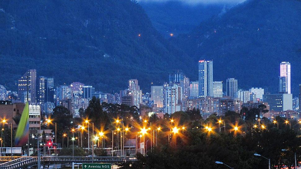 Centro de Bogotá 25 de Abril