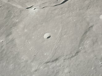 Chacornac (crater) - Apollo 15 image