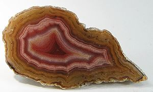 English: Chalcedony (Var.: Agate) :: Locality:...