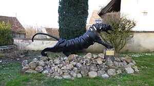 Champignelles - Le Tigre, by Claude Welsch
