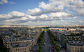 Champs Elysees- seen from Arc de Triomphe.jpg