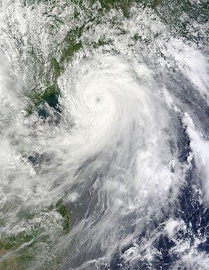 Typhoon Chanthu (2010) - Image: Chanthu Jul 22 2010 0325Z