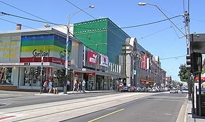 South Yarra, Victoria - Chapel Street in South Yarra