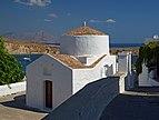 Chapel of Saint George Pahimahiotis in Lindos. Rhodes, Greece.jpg