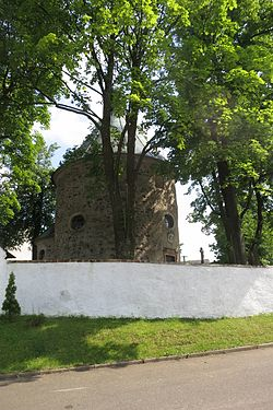 Chapel of Saint Wenceslaus in Štěpkov, Třebíč District.JPG
