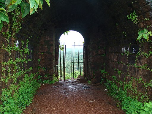 mormugao fort, Goa,India