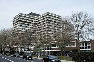 Charing Cross Hospital - Main hospital building