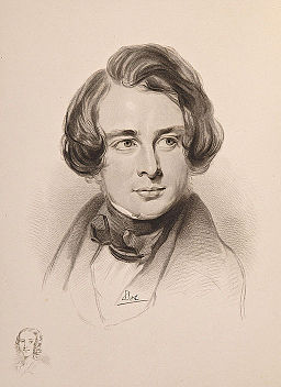 Charles Dickens sketch 1842