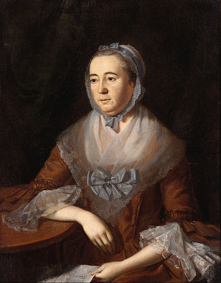 Anne Catherine Hoof Green, publisher of the Maryland Gazette, 1767-1775. Charles Willson Peale - Anne Catharine Hoof Green - Google Art Project.jpg