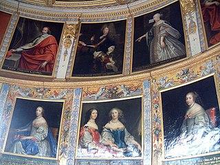 portraits de grands personnages de la Cour à Bussy-le-Grand