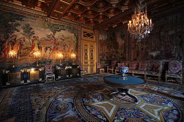 Замок Фонтенбло 10 лучших достопримечательностей Франции