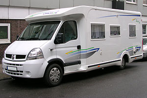 Chausson (recreational vehicle) - Image: Chausson Allegro 83 Renault vl
