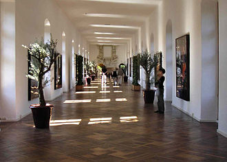 Pat Andrea - Exhibition Hall of the Château de Chenonceau, where he presented his works in 2007
