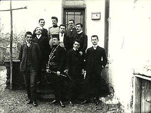 Bogdan Žerajić - Chetnik training in Vranje, 1900s.