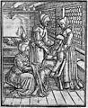 Childbirth scene; Rueff, Ein schon lustig...1554 Wellcome M0018188.jpg
