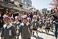 Children's parade at Hana-Matsuri in Asakusa, Japan; April 2013.jpg