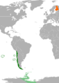 Chile Finland Locator.png