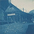 Chilkoot Railroad and Transport Company depot, Canyon City, 1898 (AL+CA 7105).jpg