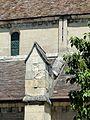 Choisy-au-Bac (60), église de la Sainte-Trinité, bas-côté sud, culée du 2e arc-boutant 1.JPG