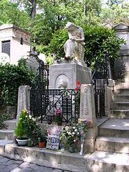 Auguste Clésinger: tombe de Frédéric Chopin