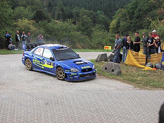 Rallye Deutschland - Chris Atkinson at the 2006 event