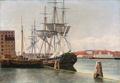 Christoffer Wilhelm Eckersberg - Udsigt fra Wilders Plads. Studie - 1832.png