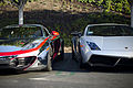 Chrome McLaren MP4-12C and Lamborghini Gallardo LP570-4 Superleggera (7761534126).jpg