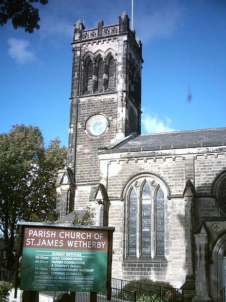 St James' Church in Wetherby, Wetherby's largest church Church6.jpg