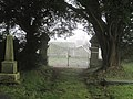 Church gates at Llanfihangel-yng-Ngwynfa - geograph.org.uk - 1574280.jpg