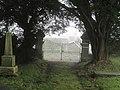 Church gates at Llanfihangel-yng-Ngwynfa - geograph.org.uk - 1574280.jpg