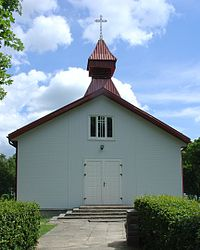 Church in Liubavas, Lithuania.jpg