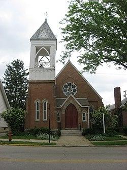 Mechanicsburg Ohio Map.Church Of Our Saviour Mechanicsburg Ohio Wikivisually