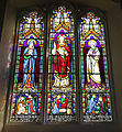 Church of Ss Mary & Lawrence interior - south aisle stained window 02.JPG