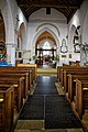 Church of St Andrew's, Boreham, Essex - nave and tower arch.jpg