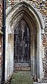 Church of St John, Finchingfield Essex England - south door of chancel.jpg