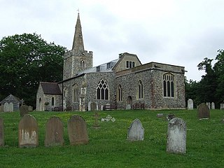 Polstead village in the United Kingdom